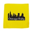 """6"""" Yellow Baby paper with full color imprint"""