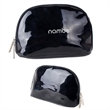 Glossy Black Cosmetic Bag