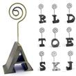 Letter Shape Memo Holder