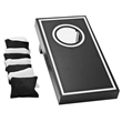 Executive Mini Toss Corn Hole Game - Executive Mini Toss Corn Hole Game - Play this game alone or with another player- Singles or Doubles