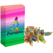 Full Color Box of Candy B-SM - Full Color gift box to highlight your logo filled with Starlight mints