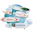 Surfboard Drive™ SR - Rounded Style - Rounded style Surfboard Drive™ in white or custom colors and ranging from 1 - 16 GB sizes.