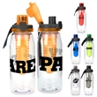 Locking 32 oz Bottle With Infuser - 32 oz. refillable water bottle Includes locking lid with lanyard and detachable fruit infuser