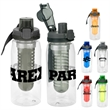 Locking 25 oz Bottle with Infuser - 25 oz. refillable water bottle Includes locking lid with lanyard and detachable fruit infuser