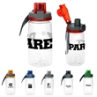 Locking 18 oz Bottle - 18 oz. refillable water bottle that includes locking lid with lanyard.