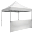 Deluxe 10' Tent Half Wall Kit (Unimprinted) - Tent walls let you customize your tent for a truly unique look.