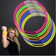 """ASSORTED COLORS 8"""" GLOW BRACELETS IN 15 PC TUBES"""