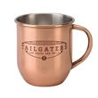 Copper Color Plated Stainless Steel Moscow Mule Style Mug - Copper Color Plated Stainless Steel Moscow Mule Style Mug