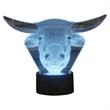 3D Bull LED Light