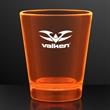1.5 oz. UV Reactive Orange Glow Shot Glasses
