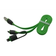 USB micro and Apple Lightning 2-in-1 cable