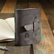 """JOURNEYMAN Small Leather Journal - Small leather journal (5 1/4"""" x 6 7/8"""" x 1"""") available in an array of colors, made in the USA."""