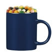 11 oz. Ceramic C-handle Classic Mug with Gourmet Jelly Beans - 11 oz. Ceramic C-handle Classic mug with Gourmet Jelly Beans.