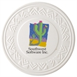 Southwestern Aquaguard Coaster - Southwestern style ceramic coaster that absorbs all moisture. Cork backing for protecting furniture.