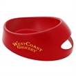 "Medium Pet Food Scoop Bowl - 8 3/4"" x 7 3/16"" x 3"" bowl with 15 ounce capacity that's made in the USA."