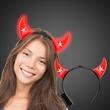 Light Up LED GLow Devil Horn Headboppers