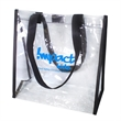 Clear Stadium Tote Bag - Transparent tote bag which complies with the new NFL stadium regulations