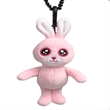 Stuffed Rabbit Toy Key Chain