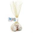 Mesh Bag with Chocolate Sports Balls Basketballs Candy