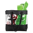 The Camden Clear Vinyl Zippered Tote