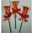 Fancy Tulip Pop - Chocolate Tulip Flower Sucker Lollipop