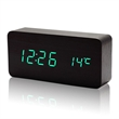 Multifunction Sound Control Led Wooden Clock