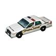 Foldable Die-cut Police Car, Full Color Digital - Foldable Die-cut Police Car,Full Color Digital