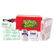 First Aid Kit, Full Color Digital - First aid kit with bag, bandages, towelettes and ointment, full color digital.