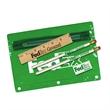 """Premium Translucent School Kit - Premium school kit with 2 pencils, 6"""" ruler and eraser."""