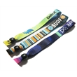 """3/4"""" Fabric Wristband Full Color Dye Sublimation"""
