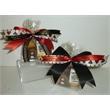 Casino Pretzel Log Box - Packaged dipped pretzel rods and casino chocolate novelties gift