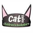 Cat Ears with Elastic Band - Cat Ears with elastic made from 14 pt., high density, white poster board.