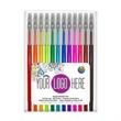 12 Pack of Gel Writers Extra Fine Point Gel Pens