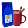 Gourmet Hot Chocolate - Blue Foil - Gourmet hot chocolate, each blue foil 8 oz package yields 6 - 8 mugs of hot cocoa.