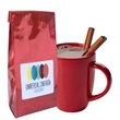Gourmet Hot Chocolate - Red Foil - Gourmet hot chocolate, each red foil 8 oz package yields 6 - 8 mugs of hot cocoa.
