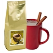 Gourmet Hot Chocolate - Gold Foil - Gourmet hot chocolate, each gold foil 8 oz package yields 6 - 8 mugs of hot cocoa.