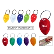 Lottery Scratcher Tear Drop Keyring Fob - Lottery Scratcher Tear Drop with Split  Keyring available in Translucents and Solid colors