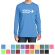Port & Company Pigment-Dyed Long Sleeve Tee - 5.5 oz. pigment-dyed long-sleeve t-shirt made from 100% ring-spun cotton, available in many colors