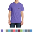 Port & Company Pigment-Dyed Pocket Tee - 5.5 oz. pigment-dyed pocket t-shirt made from 100% ring-spun cotton, available in many colors