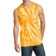 Port & Company Tie-Dye Tank Top - 5.4 oz. tie-dye tank top made from 100% cotton, available in several color blends