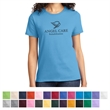 Port & Company Ladies' Essential Tee - 6.1 oz. ladies t-shirt made from 100% soft-spun cotton with a feminine cut