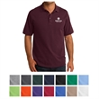 Port & Company Core Blend Piqu Polo - Port & Company cotton/polyester blended pique polo with soil-release finish.
