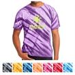 Port & Company Tiger Stripe Tie-Dye Tee - Tiger stripe tie-dye t-shirt (5.4 oz.), made from 100% cotton