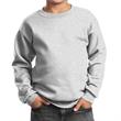 Port & Company Youth Core Fleece Crewneck Sweatshirt - 7.8 oz. youth crewneck sweatshirt, made from a 50/50 blend of cotton/polyester fleece