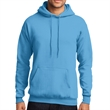 Port & Company Core Fleece Pullover Hooded Sweatshirt - 7.8 oz. core fleece hooded sweatshirt with air jet yarn, made from a blend of cotton (50%) and polyester (50%)