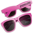 Premium All Neon Sunglasses in Pink - All neon, premium pink sunglasses with UV400 coated lenses.