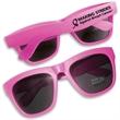 Premium All Neon Sunglasses in Pink - All neon, premium pink sunglasses with UV400 coated lenses.