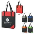 """Jumbo Tote Bag - Jumbo Tote Bag.  Made of 600 Denier Polyester.  Large Front Pocket.  26"""" Reinforced Handles.  Spot Clean/Air Dry."""