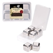 Stainless Steel Ice Cubes - Set Of 6