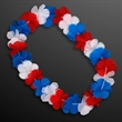 Red White & Blue USA Leis (Non-Light Up)